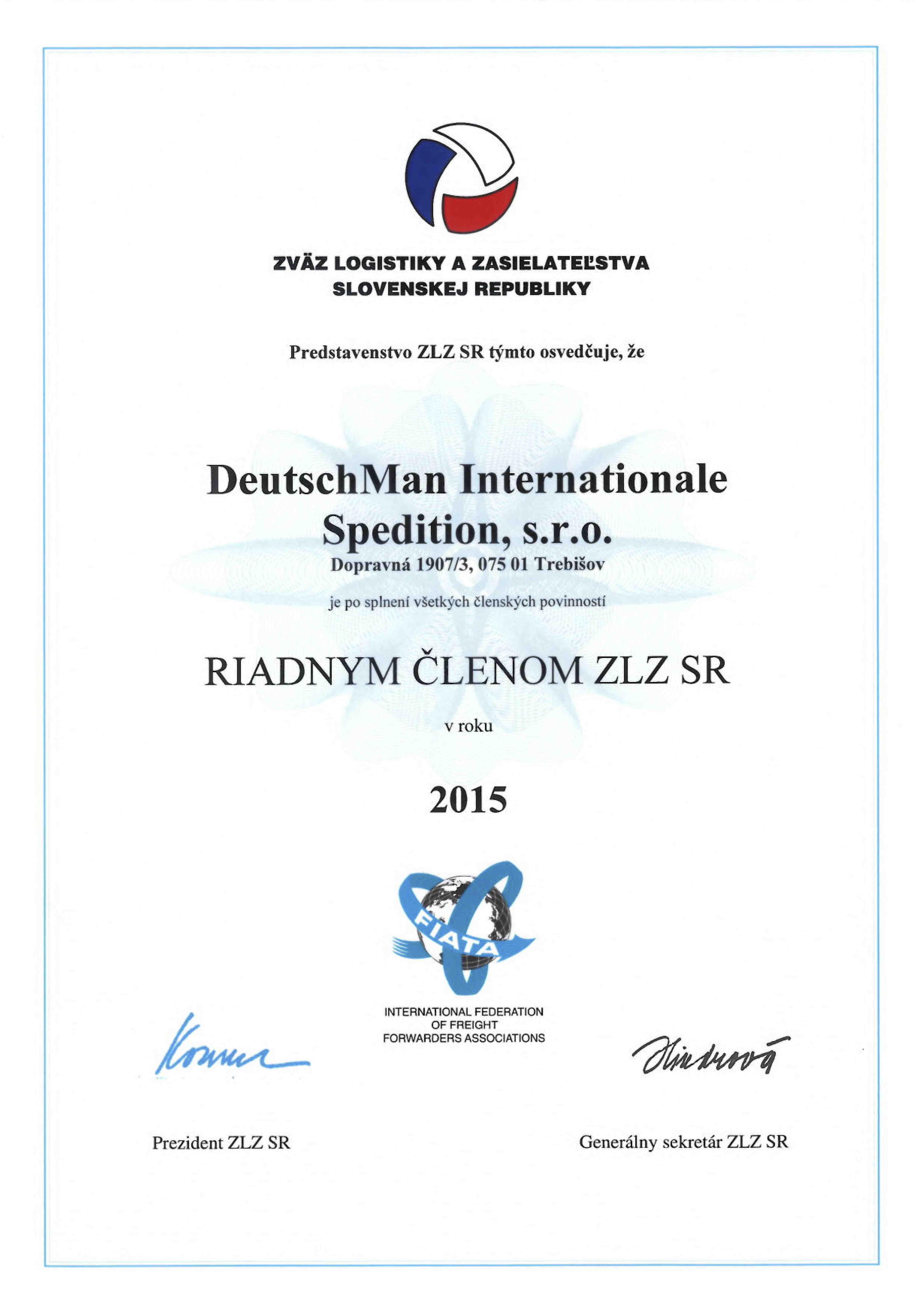 Auszeichnungen - Zertifikate | DeutschMann